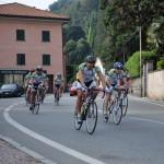 ..nella pancia del gruppo il leader di classifica Ruggero...